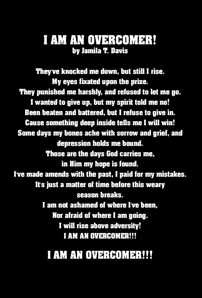I Am An Overcomer!