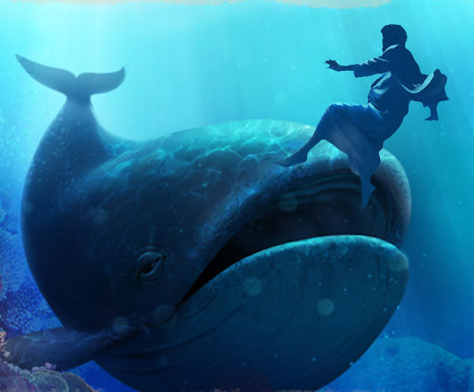 Games for Children on Jonah and the Whale