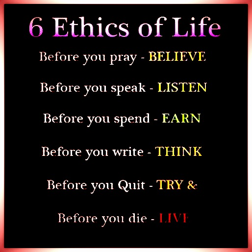 BrotherWord - 6 Ethics of Life