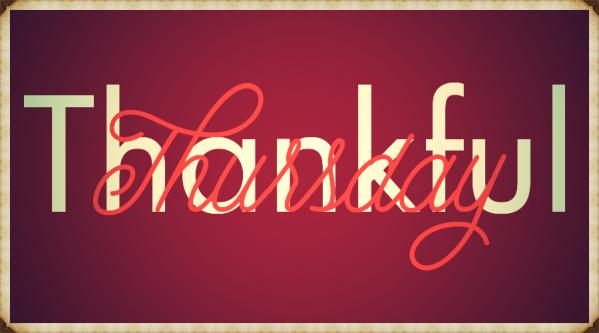 BrotherWord - Thankful Thursday