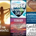 Thankful Thursday – World Gratitude Day